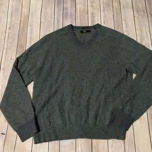 Penguin Cashmere V-Neck Sweater